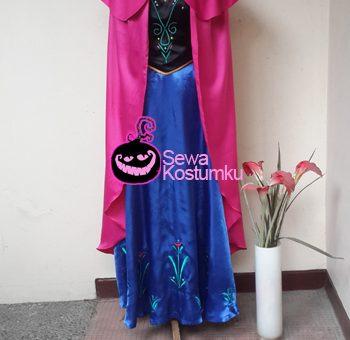 Sewa Kostum Frozen Princess Ana
