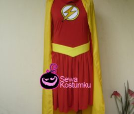 Sewa Kostum The Flash Wanita