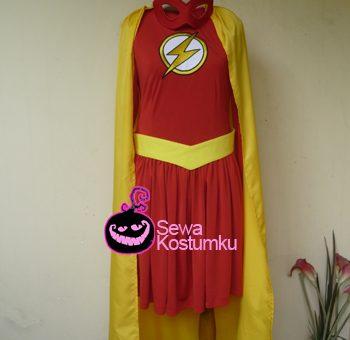 Sewa Kostum The Flash Wanita