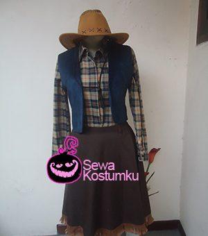 Sewa Kostum Koboi Wanita
