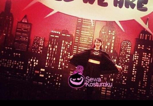 Sewa Kostum Superhero Bad Girl di Jakarta