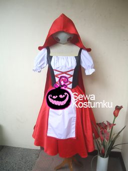 Sewa Kostum Red Ridding Hood