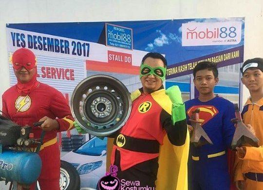 Sewa Kostum Superhero di Kebon Jeruk Jakarta Barat