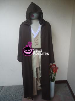 Sewa Kostum Starwars Jedi L