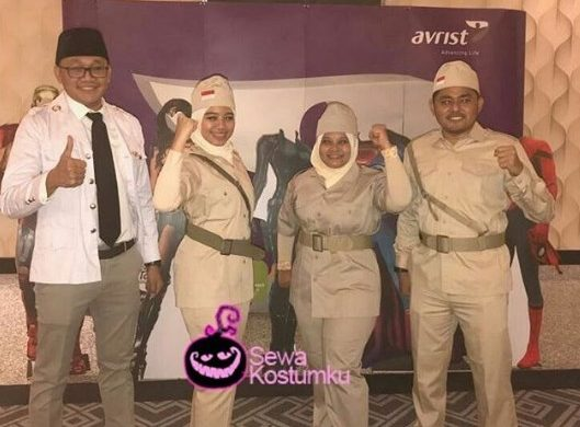 Sewa Kostum Surabaya Pejuang Peta