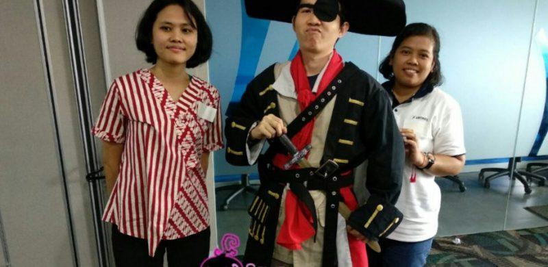 Sewa Kostum Bajak Laut Thamrin dan Kebon Kacang