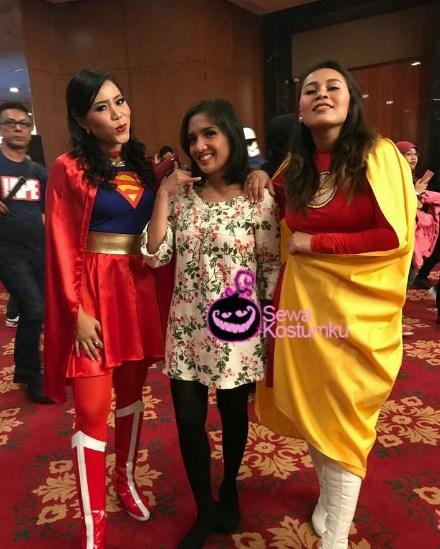 Sewa Kostum Superhero di Jakarta Pusat