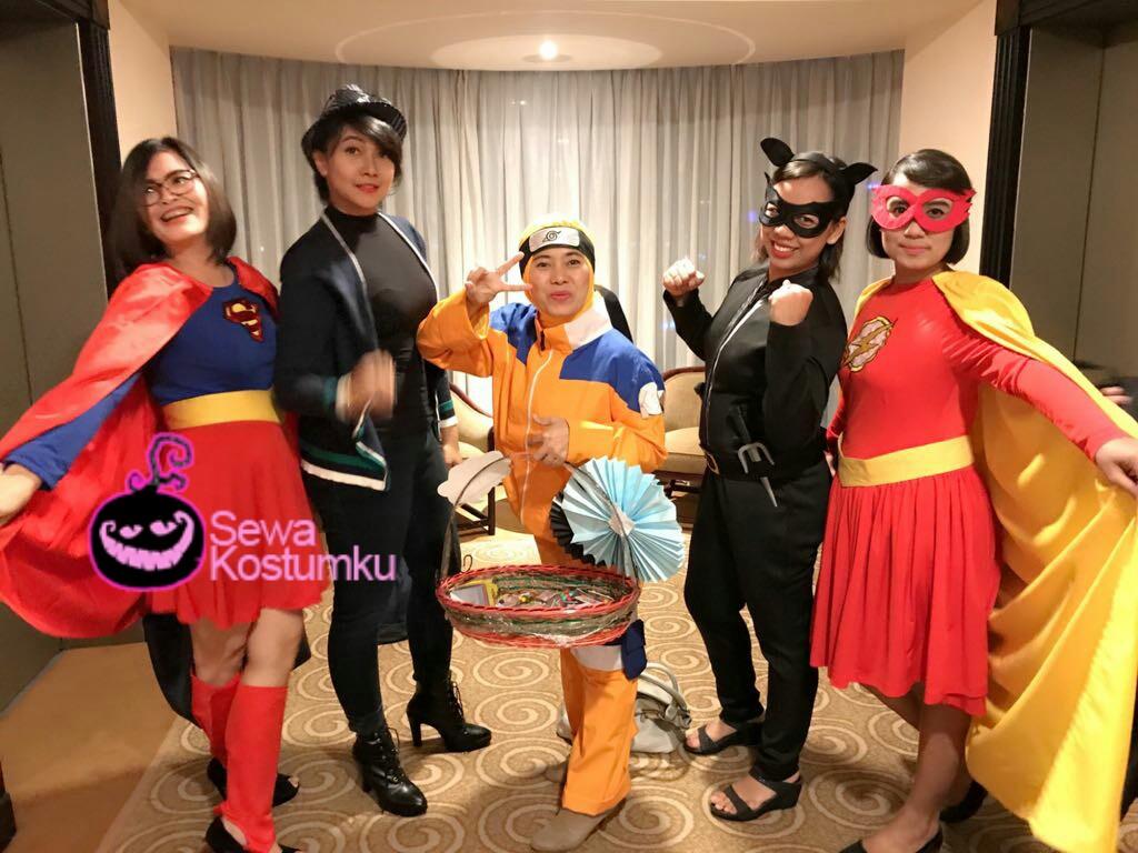 Sewa Kostum Halloween Superhero di Fatmawati - Copy
