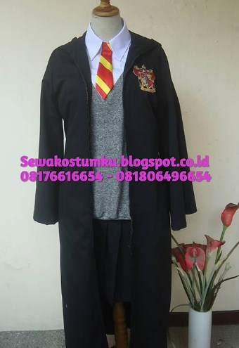 Sewa Kostum Halloween Harry Potter Sederhana