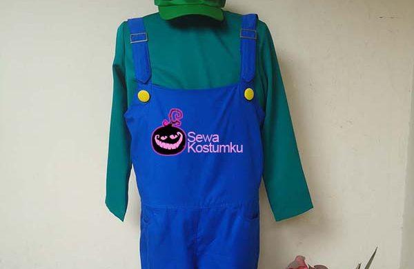 Sewa Kostum Luigi Halloween L