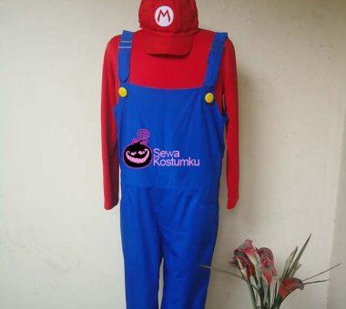 Sewa Kostum Mario Bross Size XL