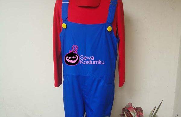 Sewa Kostum Mario Bross Halloween XL