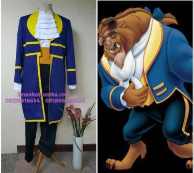 Sewa Kostum Pangeran Prince Beast ukuran L