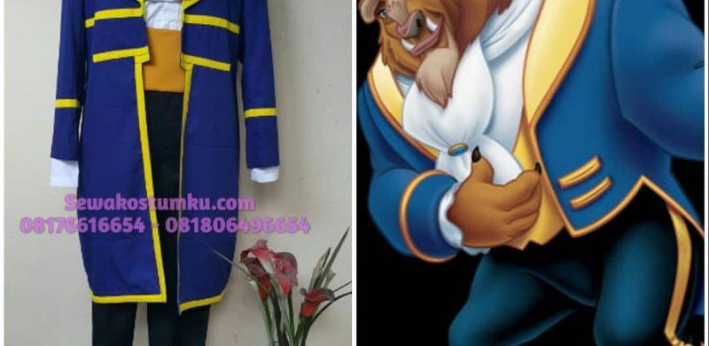 Sewa Kostum Pangeran Prince Beast Beauty and The Beast Jakarta