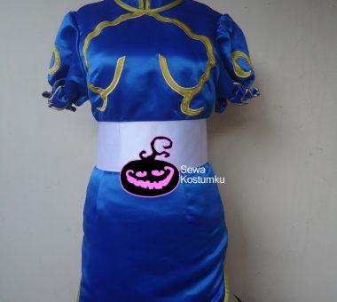 Sewa Kostum Superhero Wanita Chun Li Street Fighter