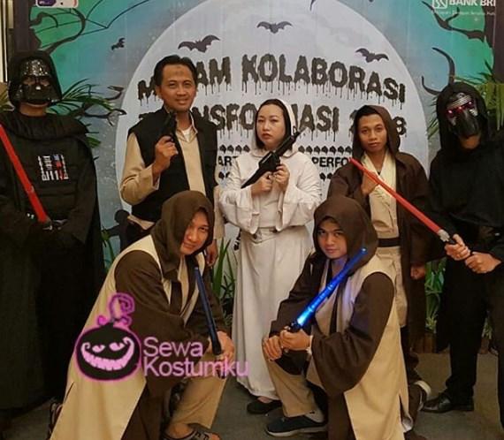 Sewa Kostum Starwars di Pluit Tanjung Priok Jakarta Utara