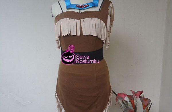 Sewa Kostum Princess Pochahontas L dan XL