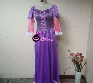 Sewa Kostum Princess  Putri Rapunzel ukuran S
