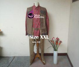 Sewa Kostum Cowboy Dewasa Ukuran XXL Dewasa di Jakarta
