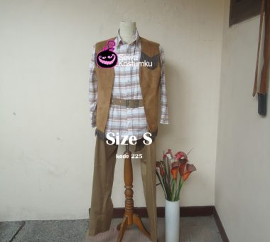 Sewa Kostum Cowboy Cowo Dewasa Jakarta ukuran S