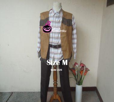 Sewa Kostum Cowboy Dewasa Ukuran M di Jakarta