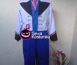 Sewa Kostum Cewe Prince Hans Frozen ukuran M