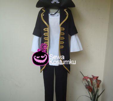 Sewa Kostum Cewe Pirate Bajak Laut ukuran L