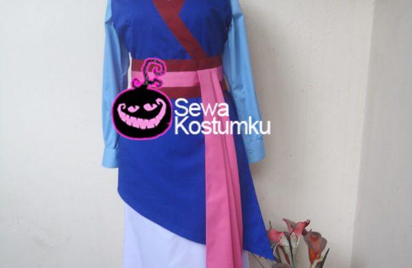 Sewa Kostum Princess Mulan ukuran M dan L
