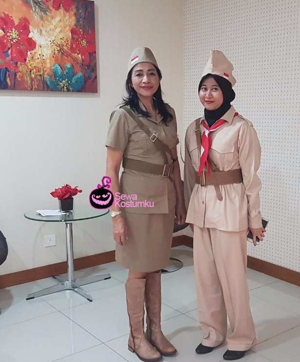 Sewa Kostum Pejuang Peta 1945 di Jakarta