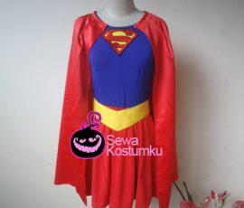 Sewa Kostum Superhero Super Girl Jakarta