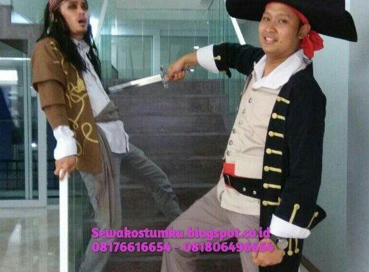 Sewa Kostum Bajak Laut di Bekasi
