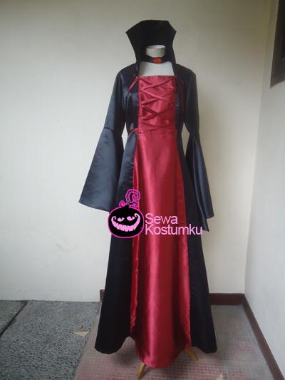 Sewa Kostum Halloween Vampir Drakula Jakarta