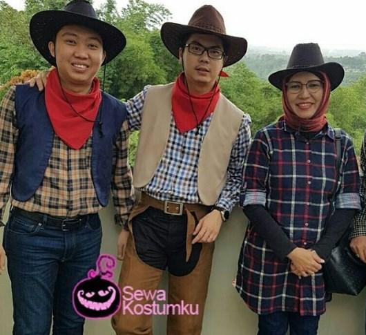Sewa Kostum Cowboy di Bandung