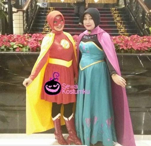 Sewa Kostum Princess dan Superhero di Bandung