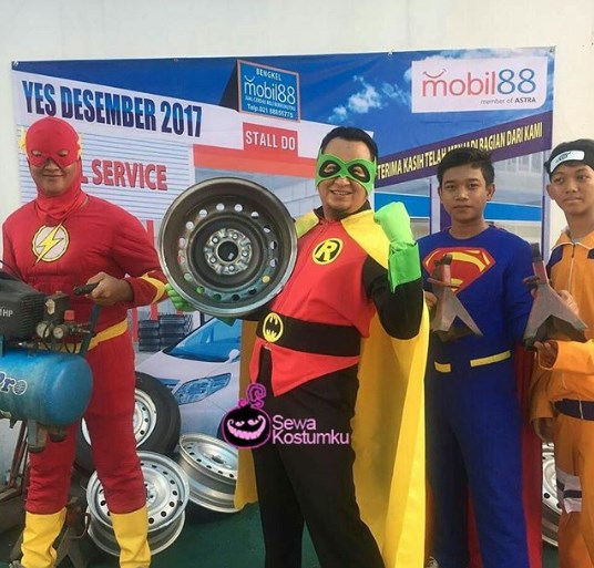Sewa Kostum Superhero di Bandung