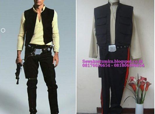 Sewa Kostum Han Solo Star Wars di Kebangan Jakarta Barat