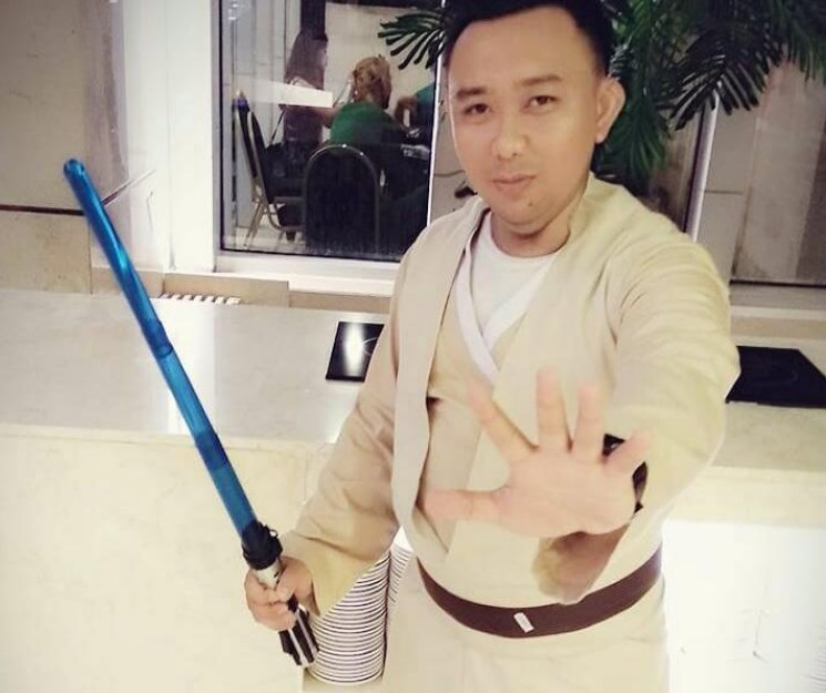 Sewa Kostum Superhero Jedi Starwars di Kuningan Sudirman
