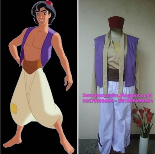 Sewa Kostum Aladin dan Jasmine