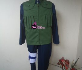 Sewa Kostum Kakashi Naruto ukuran S, M, L, XL
