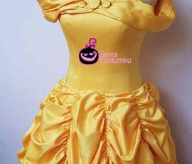 Sewa Kostum Princess Belle , Beauty and The Beast Ukuran M