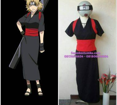 Sewa Kostum Temari dari Seri Anime Naruto S, M, L