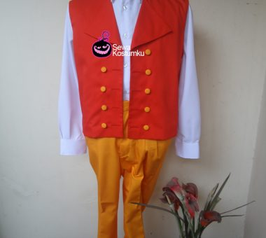 Sewa Kostum Internasional Swiss Pria ukuran L