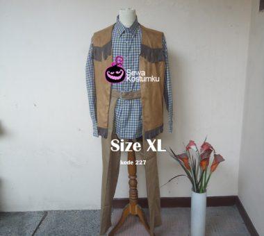 Sewa Kostum Cowboy Dewasa Ukuran XL di Jakarta