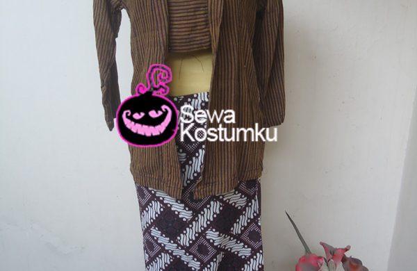Sewa Kostum Lurik Jawa Wanita