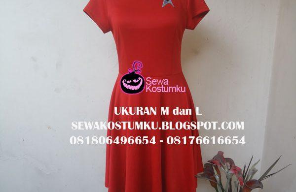 Sewa Kostum Startrek Wanita ukuran m dan L 243