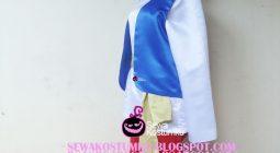 Sewa Kostum Aladin Putih Merah Biru size S L XL