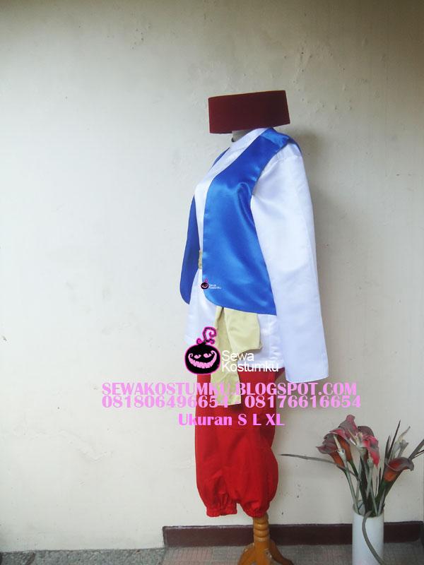 Sewa Kostum Aladin ukuran S L XL