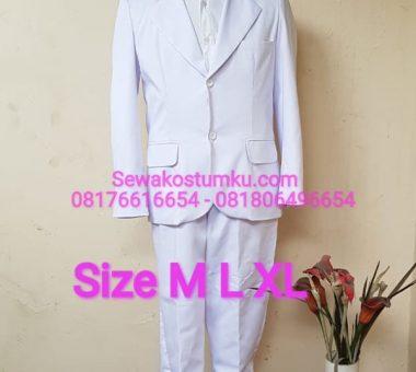 Sewa Kostum Pahlawan Kemerdekaan Bung Hatta ukuran M L XL (kode 247)