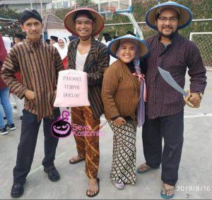 Sewa Kostum Pejuang Kemerdekaan Tempo Dulu Kelapa Gading