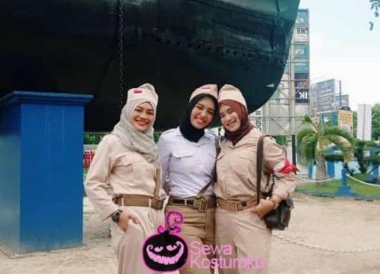 Sewa Kostum Tentara Pejuang Wanita
